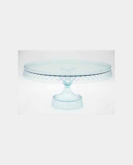 Blue Opaque Table Top Platter