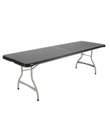 """96"""" by 30"""" (8') Plastic Folding Tables"""