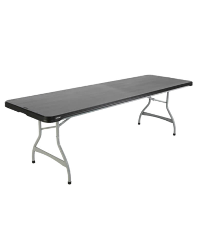 "96"" by 30"" (8') Plastic Folding Tables"